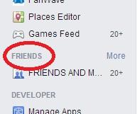 רשימת חברים בפייסבוק – למה ואיך Lists Of Friends On Facebook