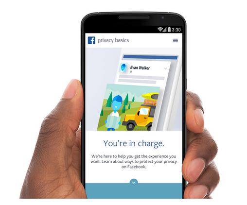 הפרטיות שלנו בפייסבוק – גרסת 2015 Privacy Basics