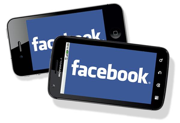 השפעות המובייל על פלטפורמת הפייסבוק  Facebook Revenue Growth On Mobile