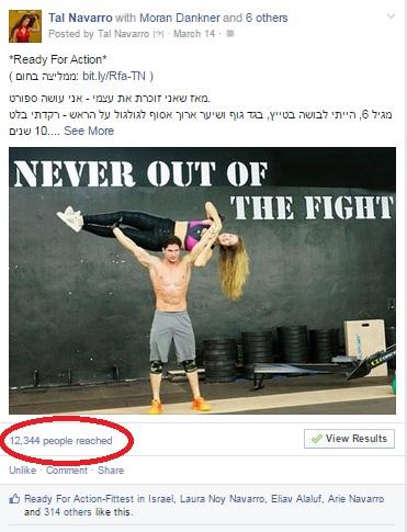 השפעתה של תמונה בפייסבוק Photo Engagement On Facebook