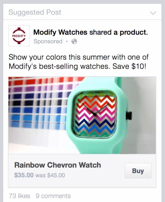 כפתור קניה בפייסבוק – Facebook Buy Button For Shopify