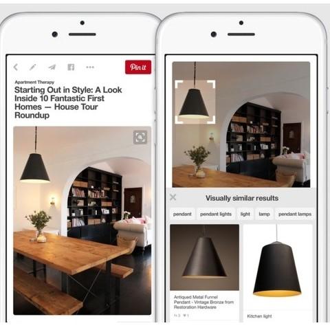 כלי החיפוש הויזואלי החדש של פינטרסט The New Visual Search Tool On Pinterest